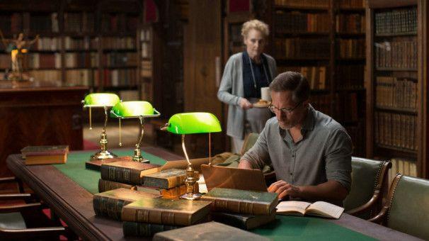 David (Benno Fürmann) soll das letzte Werk eines verstorbenen Autors übersetzen.