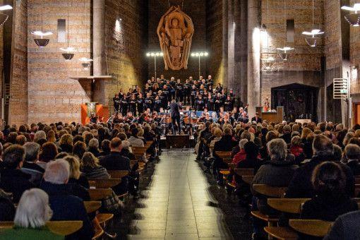 Ein Bach-Konzert in der St. Johanniskirche in Würzburg.