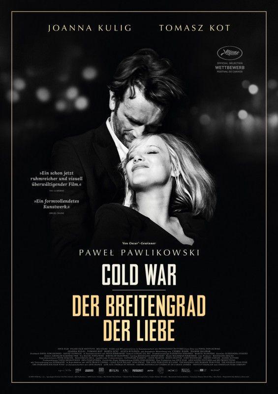 """Ein Cineasten-Traum in Schwarz-Weiß: Pawel Pawlikowskis Liebesdrama """"Cold War - Der Breitengrad der Liebe""""."""