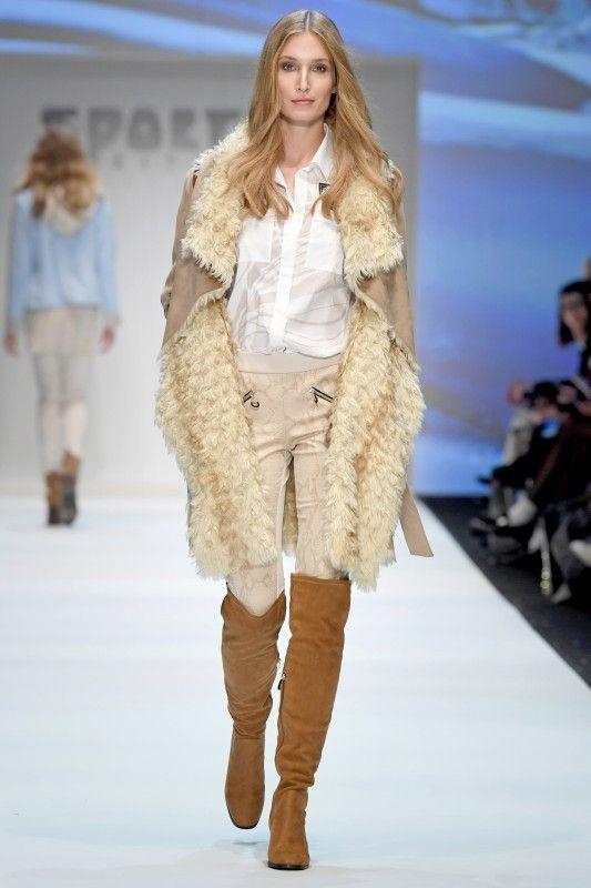 Wintermärchen: Der Teddy-Look liegt bei Mänteln voll im Trend.