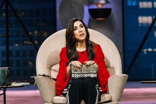 """Judith Williams nimmt in der letzten Folge der fünften Staffel von """"Die Höhle der Löwen"""" eine ganz besondere Handtasche unter die Lupe. Denn: Die Tasche wurde aus Fisch gemacht."""