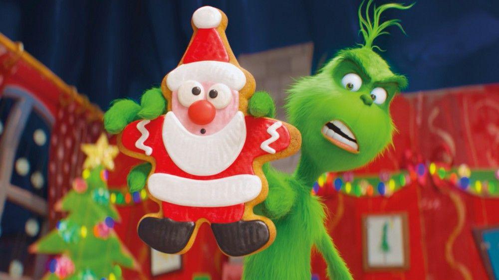 """""""Was hat Santa, was ich nicht habe?"""", fragt sich der grüne Griesgram. Er möchte in die Rolle des Weihnachtsmanns schlüpfen, um das Fest zu stehlen."""
