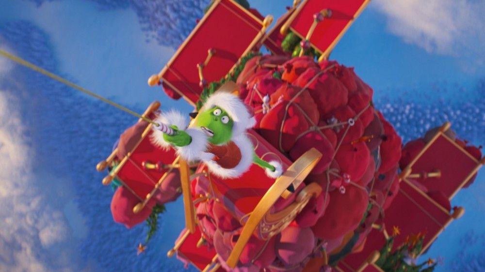 Der Grinch feilt einen gemeinen Plan aus, wie er Weihnachten stehlen kann. Im Remake dürfen schon mal modern anmutende Stelzen und ausgereifte Technik zum Einsatz kommen.