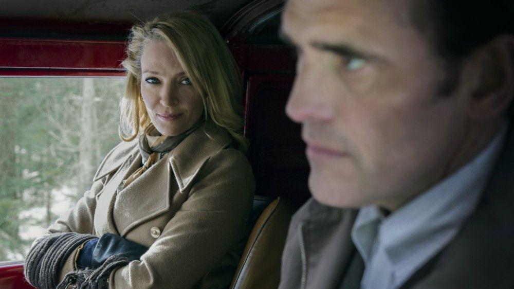 Eher zufällig löst eine enervierende Lady (Uma Thurman) Jacks (Matt Dillon) Blutrausch aus.