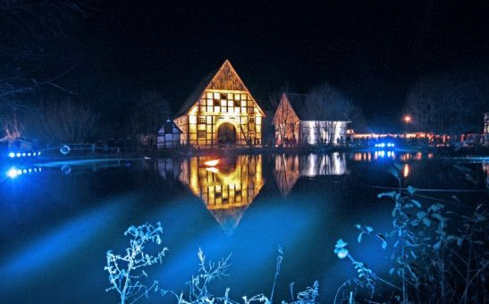 Hier kommt man richtig in Weihnachtsstimmung: Der Museumsadvent im Freilichtmuseum Detmold.