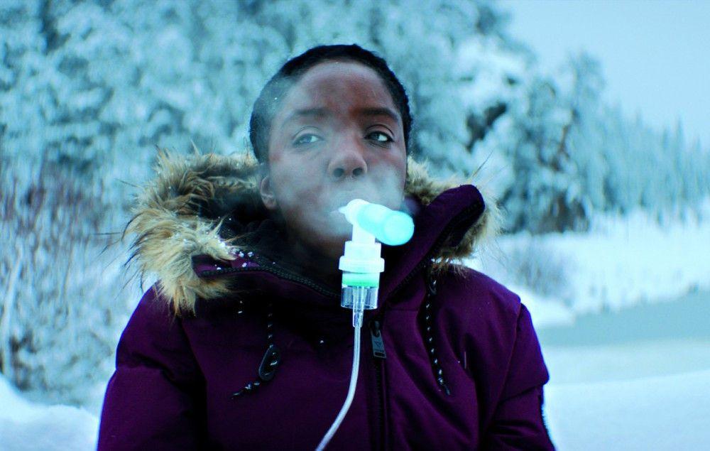 """Die asthmakranke Kyla Peck setzt sich mit ihrer """"Moms Clean Air Force"""" für saubere Luft und die Gesundheit nachfolgender Generationen ein."""