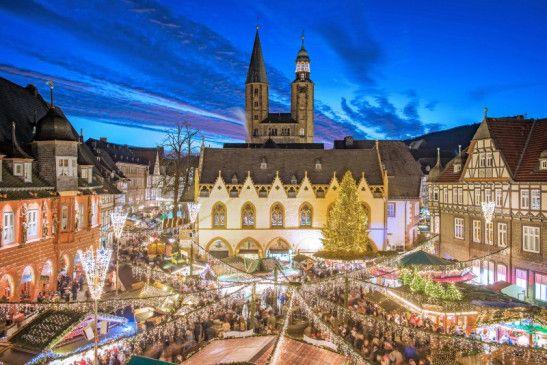 Der Weihnachtsmarkt in Goslar.