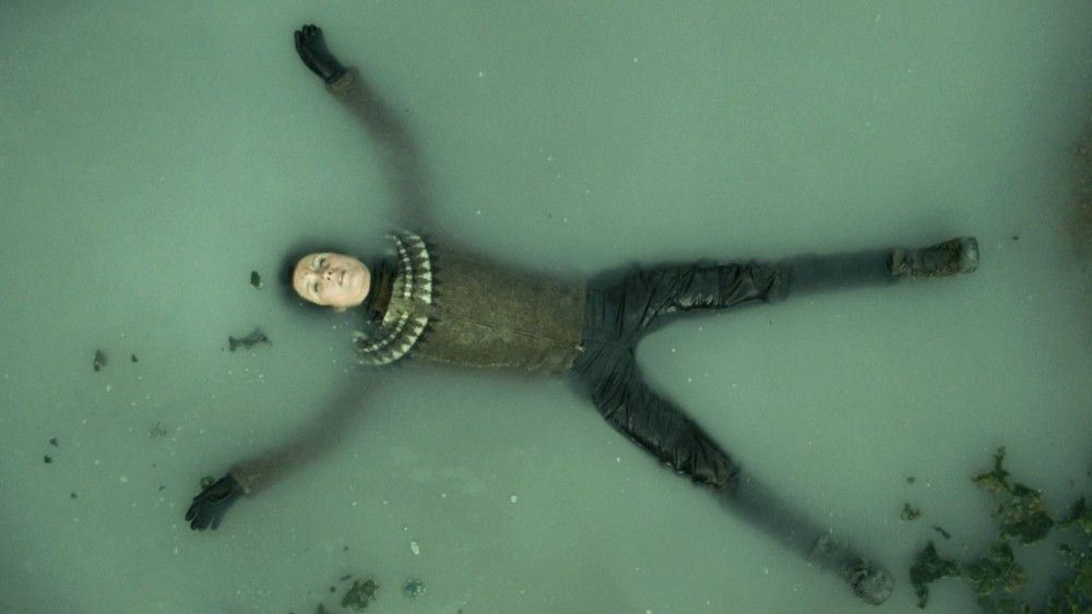 Erschöpft oder verträumt? Die Heldin der isländischen Geschichte (Halldora Geirhardsdottir) bekommt leider keinen goldenen Pokal.