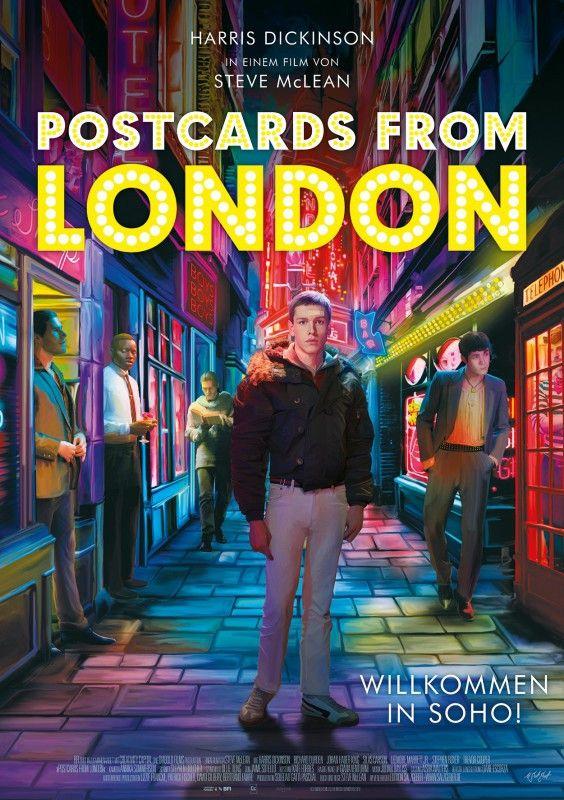 """Steve McLeans zweiter Langfilm """"Postcards from London"""" ist ganz hübsch anzuschauen, doch wirkt er streckenweise unangenehm prätentiös."""