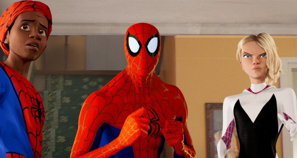"Motiv aus ""Spider-Man: A New Universe"""