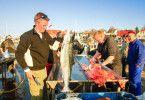 Fangfrischer Fisch: Meeresfrüchte spielen in Bornholms Küchen eine Hauptrolle.