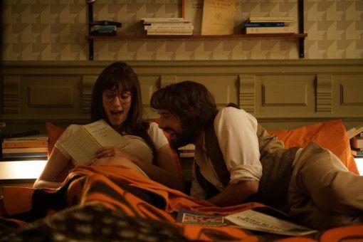 Die schwangere Sarah (Doria Tillier) und Victor (Nicolas Bedos) hoffen, ihr Sohn wird ein zweiter Dostojewski.