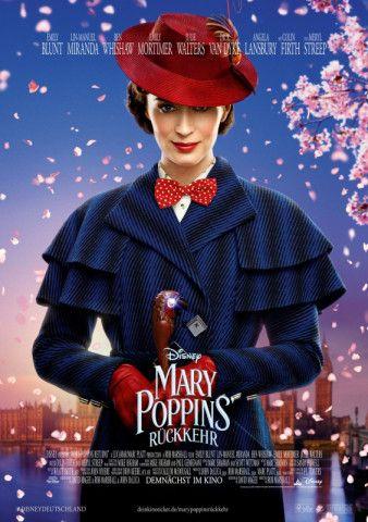"""Es wurde langsam Zeit, dass die Supernanny wieder auftaucht: """"Mary Poppins' Rückkehr"""" feiert die Magie der Kindheit in einem heillos nostalgischen Filmmusical."""