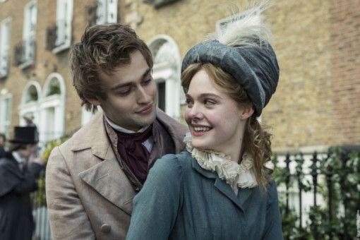 Mary (Elle Fanning) und der Dichter Percy Shelley (Douglas Booth) gehen in London schnell eine Beziehung ein.