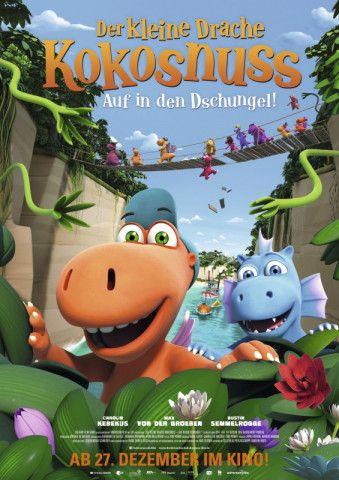 """Kindgerechte Unterhaltung mit wichtiger Botschaft - das ist """"Der kleine Drache Kokosnuss - Auf in den Dschungel!""""."""