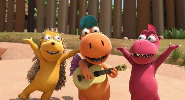 Musikalisch sind sie: Matilda (links), Kokosnuss (Mitte) und Oskar.