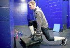 Mehr Muskelkraft: Im Profibereich gehört Vibrationstraining längst zum Standardprogramm