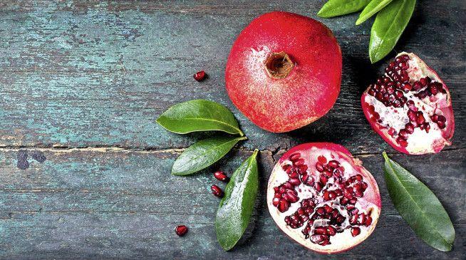 Kernige Frucht: der Granatapfel