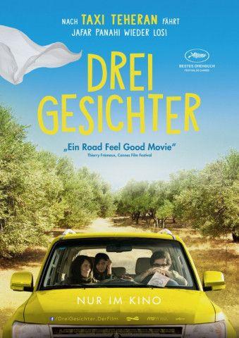 """Jafar Panahi begibt sich in """"Drei Gesichter"""" auf einen humorvollen Roadtrip durch das Land, das ihm die Arbeit als Filmregisseur verboten hat."""