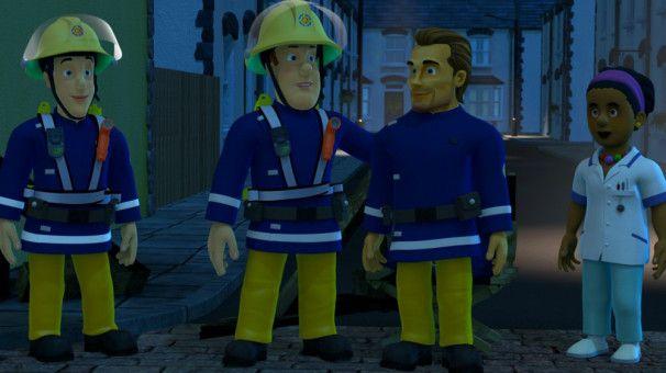 """Motiv aus """"Feuerwehrmann Sam - Plötzlich Filmheld!"""""""