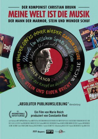 """""""Meine Welt ist die Musik"""" heißt der Dokumentarfilm über den unbekannten Hit-Komponisten des deutschen Schlagers und Schöpfer vieler genialer TV-Melodien: Christian Bruhn."""