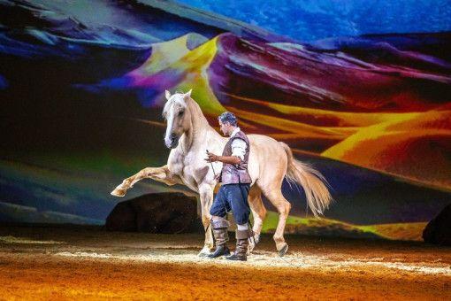 """""""Cavalluna – Welt der Fantasie"""" gastiert in Hannover."""