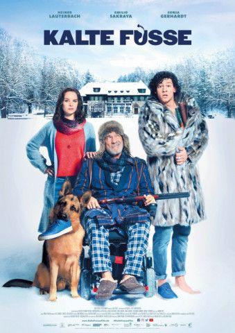 """In der winterlichen Komödie """"Kalte Füße"""" bekommt es Heiner Lauterbach mit einem vermeintlichen Pfleger zu tun."""