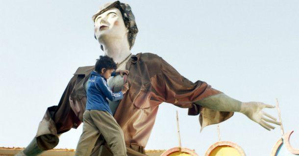 Der zwölfjährige Zain (Zain Al Rafeea) schlägt sich alleine auf den Straßen Beiruts durch.