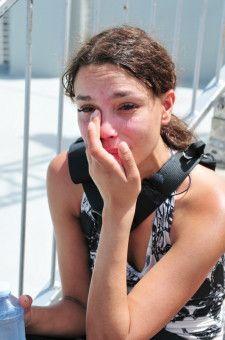 """Wer das Model damals in """"Germany's Next Topmodel"""" gesehen hat, wird über ihre Tränen nicht überrascht sein."""