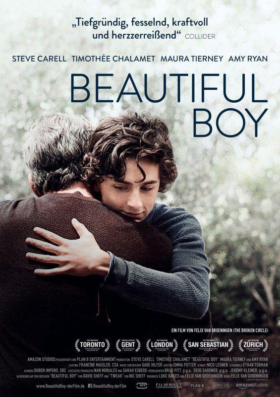 """Steve Carell als Vater eines drogensüchtigen Sohns (Timothée Chalamet): """"Beautiful Boy"""" ist ein bedrückendes Drama über die Fentanyl-Krise in den USA."""