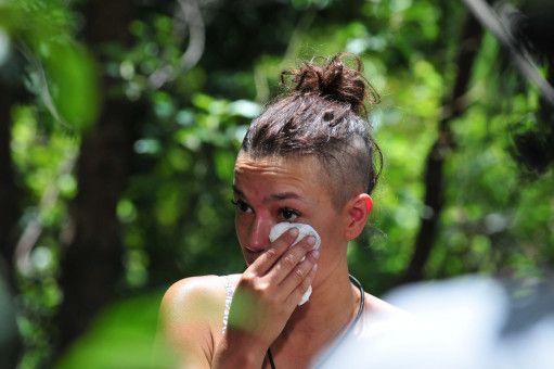 Und Gisele weint eine Runde.