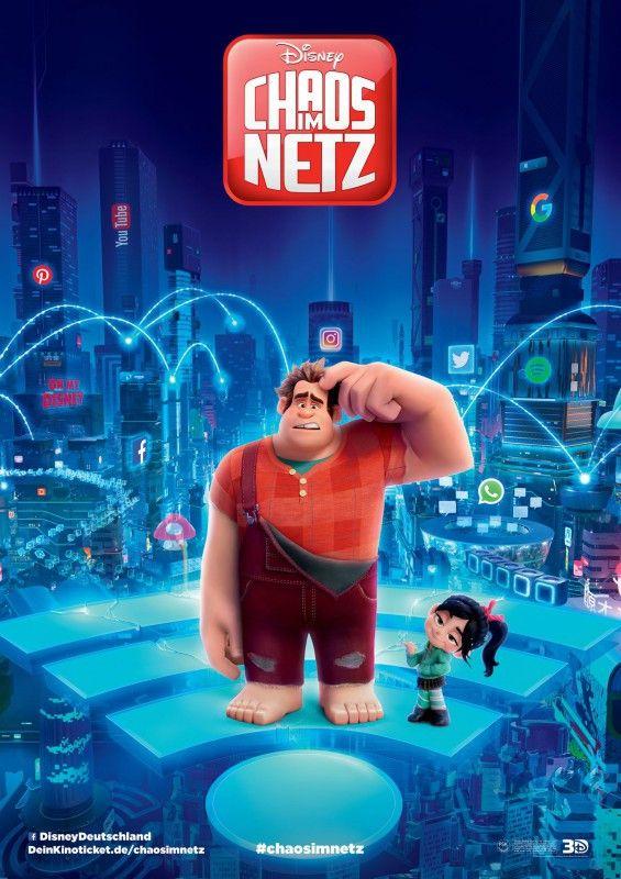"""Mit """"Chaos im Netz"""" kehrt der sympathische Videospiel-Held Ralph zurück - und muss sich mit dem Neuland Internet auseinandersetzen."""