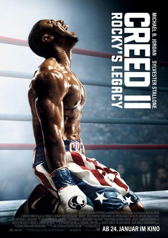 """""""Creed II: Rocky's Legacy"""" setzt die Spin-off-Reihe der """"Rocky""""-Filme fort - kann aber nicht mit dem ersten Teil mithalten."""