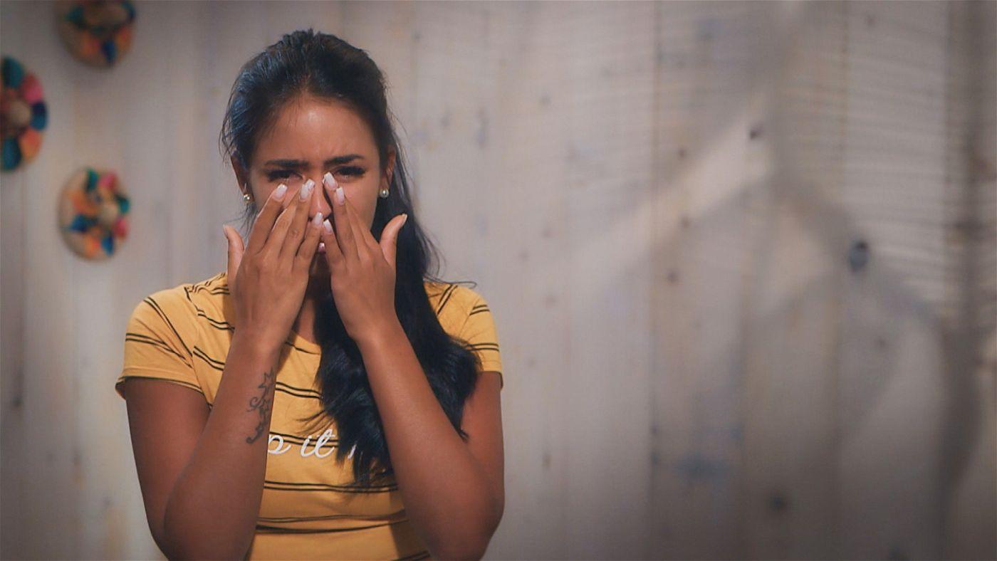 Tränen fließen in Folge vier auch bei Nathalia.