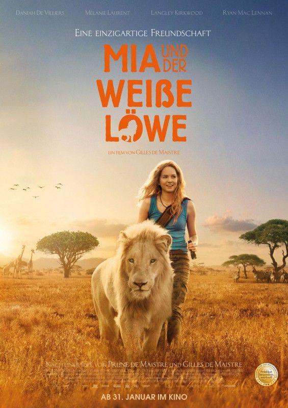 """""""Mia und der weiße Löwe"""" erzählt die Geschichte einer ungewöhnlichen Freundschaft zwischen einem Löwen und einem jungen Mädchen."""