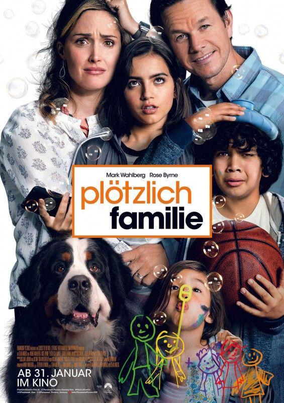 """Auf einmal zu fünft: In """"Plötzlich Familie"""" werden Mark Wahlberg und Rose Byrne Adoptiveltern."""