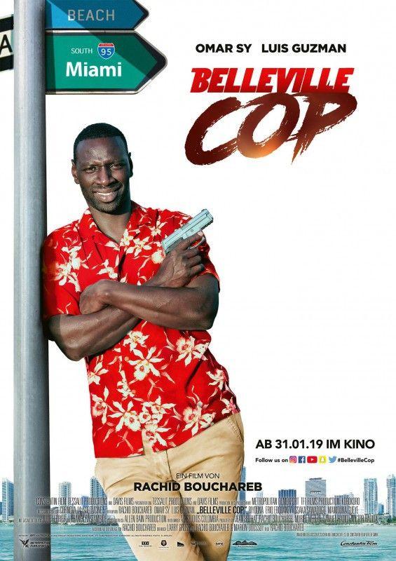 """Sieht aus wie ein Film aus den 80-ern, ist aber eine Komödie von heute: """"Belleville Cop"""" mit Omar Sy."""