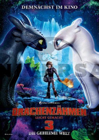 """Mit """"Drachenzähmen leicht gemacht 3: Die geheime Welt"""" endet die Animationssaga rund um den jungen Wikinger Hicks."""