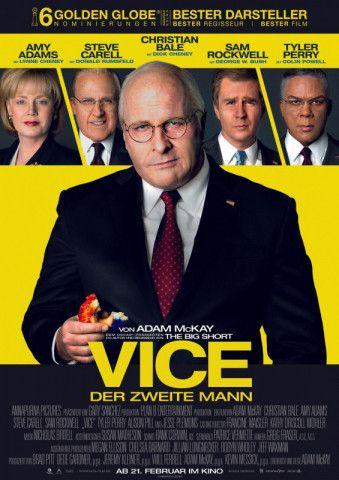 """Fünf Jahrzehnte US-Geschichte: """"Vice - Der zweite Mann"""" ist für acht Oscars nominiert."""