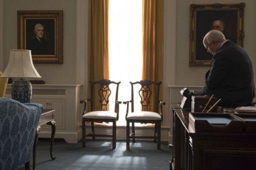 Dick Cheney (Christian Bale) ist im Zentrum der Macht angekommen.