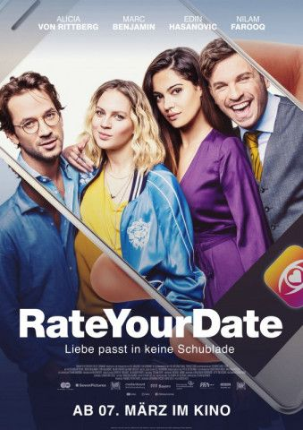 "Dating per App - ""Rate Your Date"" ist der Film für die Generation Tinder."