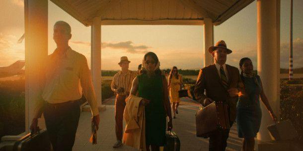 Sharon (Regina King) reist nach Puerto Rico, um die Frau zu treffen, die Fonny angeblich vergewaltigt hat.