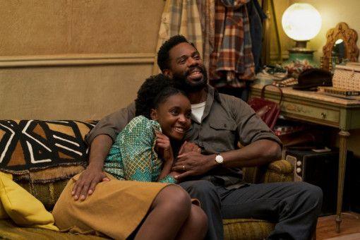 Tish (KiKi Layne) hat eine enge, liebevolle Beziehung zu ihrem Vater Joseph (Colman Domingo).