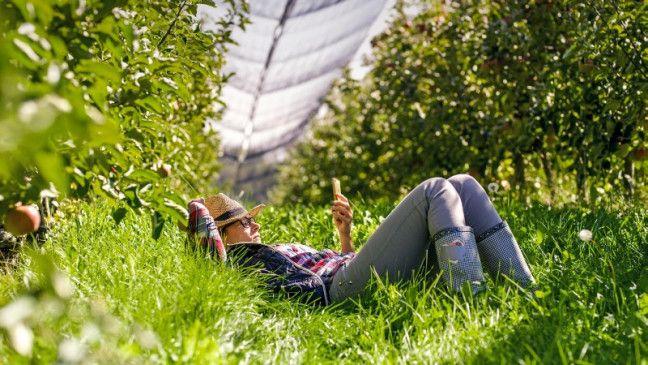 Entspannung: Online-Helfer geben nützliche Gartentipps.