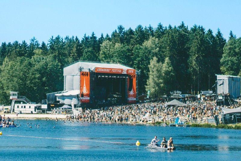 Das Kosmonaut Festival wird von der Band Kraftclub ausgerichtet.