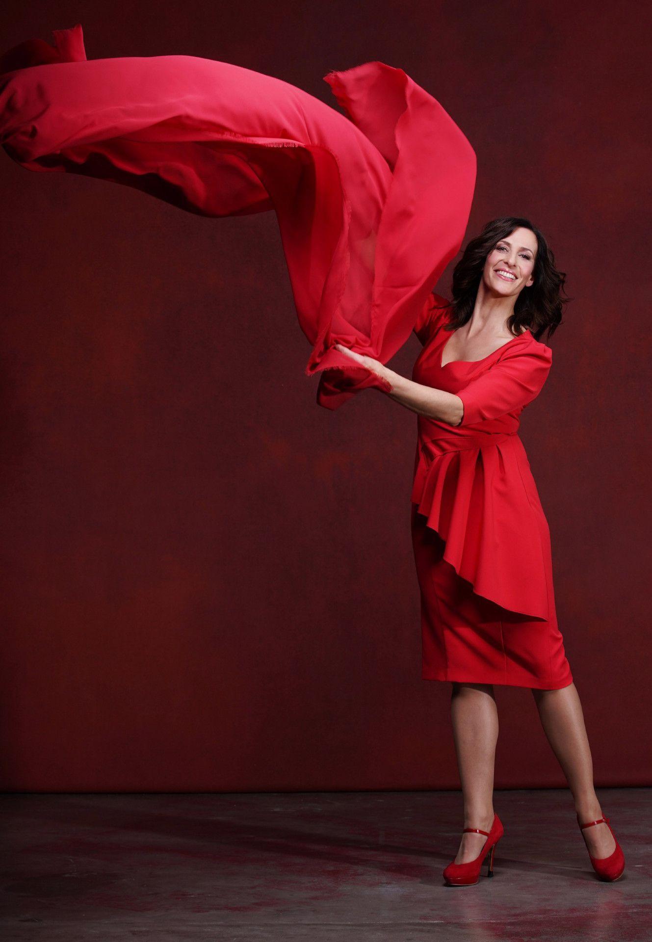 """Fans der Serie """"Gute Zeiten, schlechte Zeiten"""" kennen Ulrike Frank als Katrin Flemming. Die Teilnahme bei """"Let's Dance"""" ist für die 50-Jährige ein Traum, der in Erfüllung geht."""