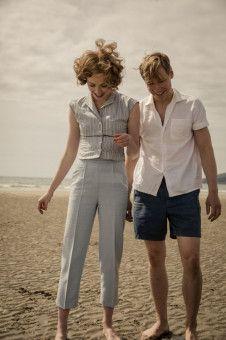 Eine schwierige Liebe: Margaret (Freya Mavor) und Bert Trautmann (David Kross).