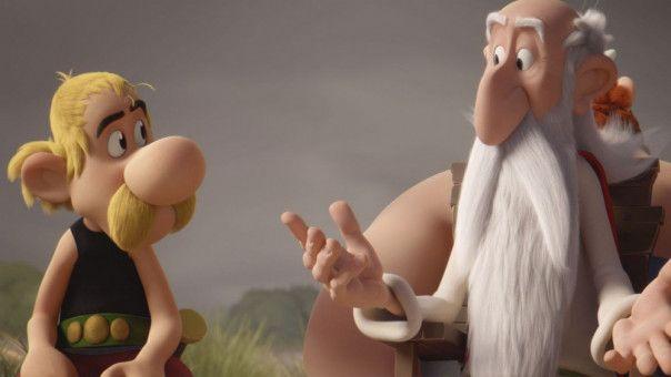 Was soll er bloß machen? Miraculix erklärt Asterix, warum er einen Nachfolger sucht.