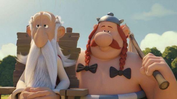 Obelix macht sich Hoffnungen, wieder etwas vom Zaubertrank probieren zu dürfen, wenn Miraculix als Druide aufhört.