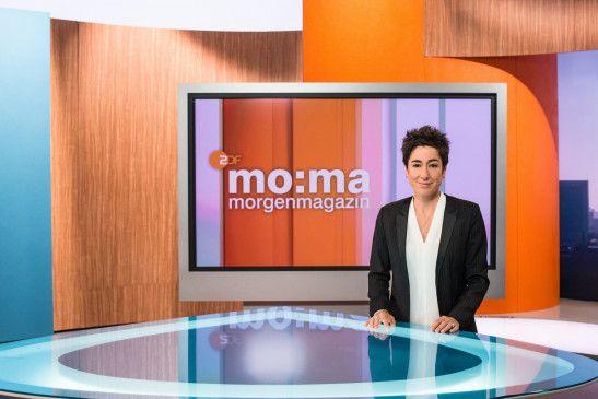 Dunja Hayali musste als Moderatorin des ZDF-Morgenmagazins auf einen ungewöhnlichen Zwischenfall reagieren.